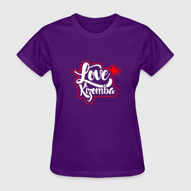 Zouk Love Love_kizomba_color - Women's T-Shirt