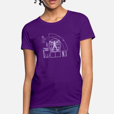 Golden Ratio measure of men (1c) - Women's T-Shirt