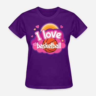 Girls Basketball Basketball Sports Gift - Women's T-Shirt