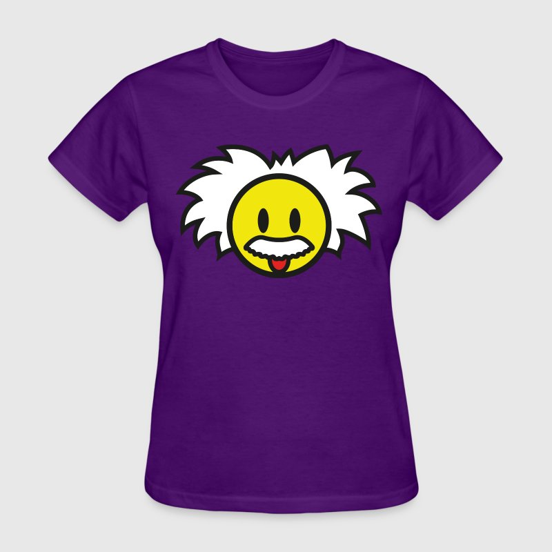 Smiley Einstein Icon (dd print) - Women's T-Shirt