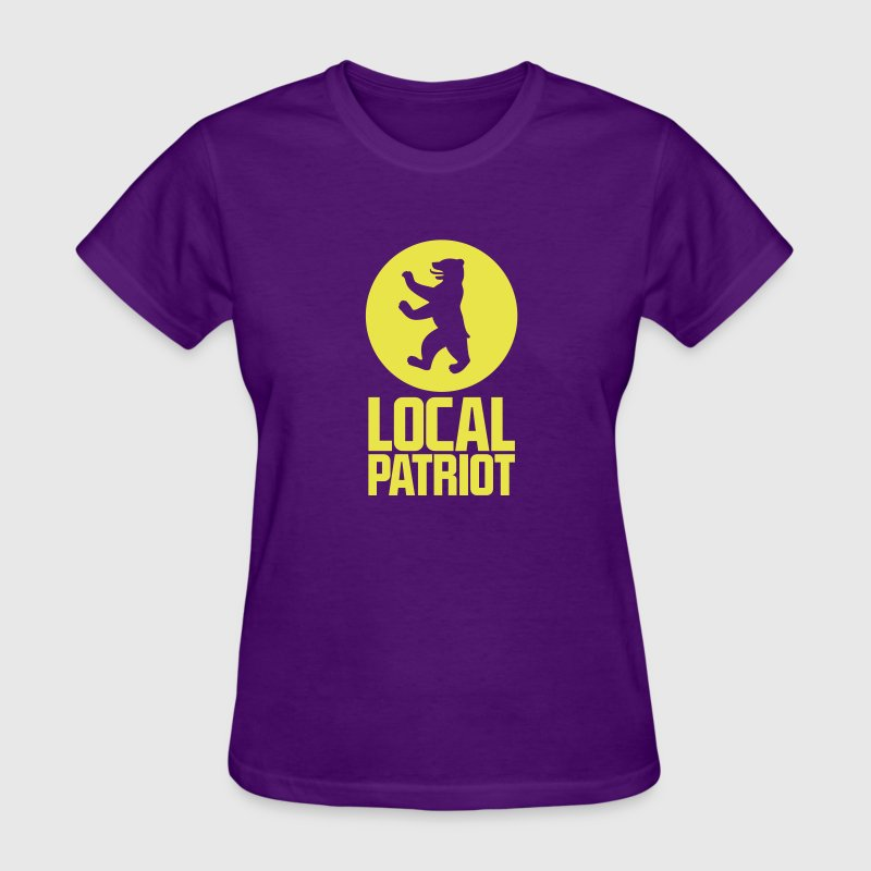 Local Patriot Bear - Women's T-Shirt