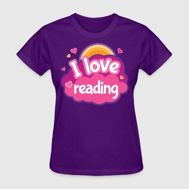 Reading Reader Gift Cute - Women's T-Shirt