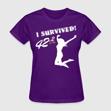 Women's Full Marathon · I Survived! - Women's T-Shirt