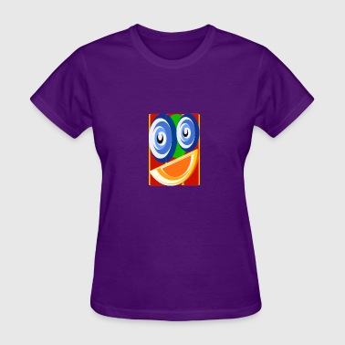 Orange Smile - Women's T-Shirt
