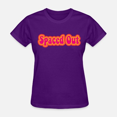 Retro Space Retro Spaced Out - Women's T-Shirt