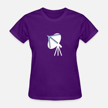 Smart computer connectivity satellite dish cell phones - Women's T-Shirt