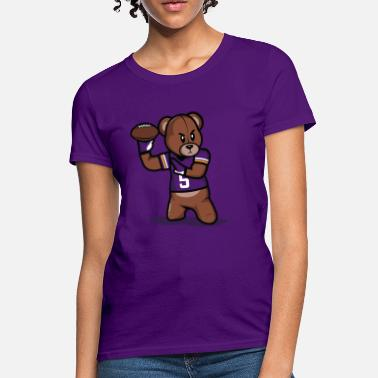 Teddy Football Teddy Football Shirt - Women's T-Shirt