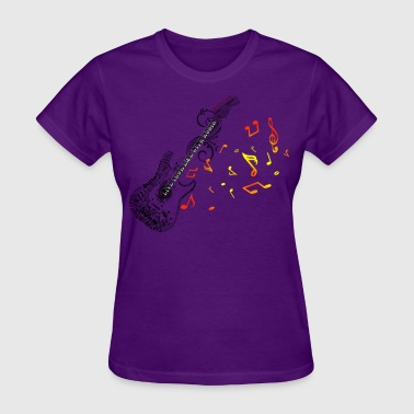 guitar mosaic - Women's T-Shirt