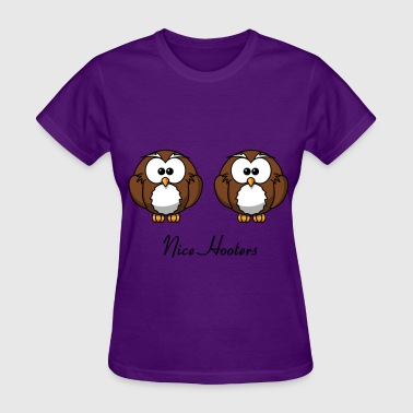 Nice Hooters - Women's T-Shirt