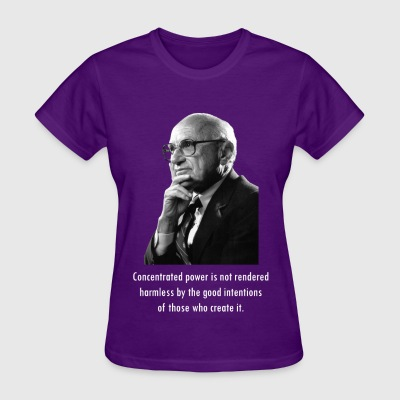 Milton Friedman Concentrated Power white - Women's T-Shirt