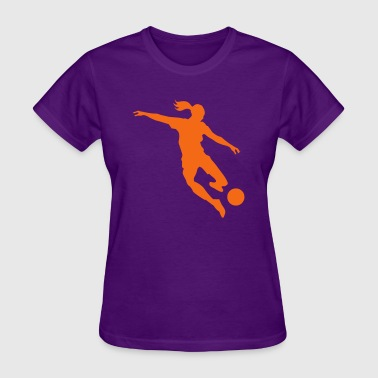 Soccer female - Women's T-Shirt