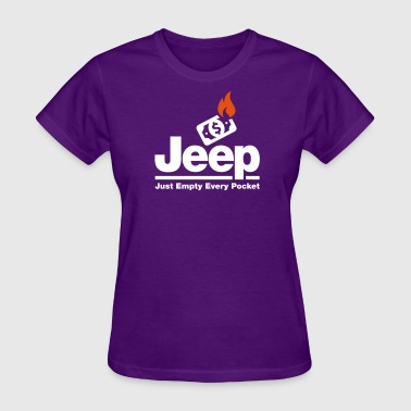 Jeep - Just Empty Every Pocket - Women's T-Shirt