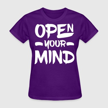 Open Your Mind - Women's T-Shirt
