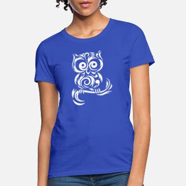 Tribal Owl Little Owl Tribal - Women's T-Shirt