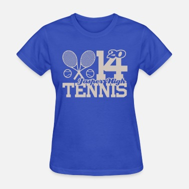 Jasper Funny 2014 Jasper High Tennis - Women's T-Shirt