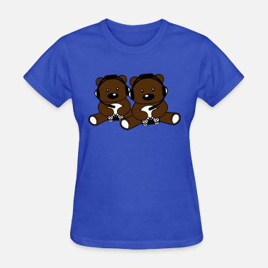 Germany Couple 2 friends team couple bavaria drinking germany okt - Women's T-Shirt