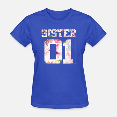 Sisters Forever SIster bff best friend forever birthday gift girls - Women's T-Shirt