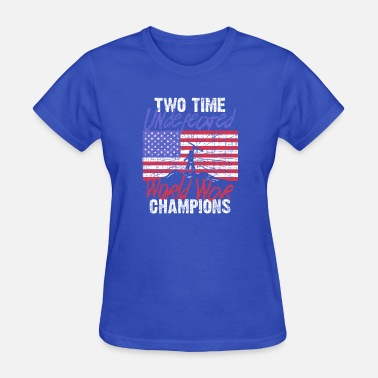 Retired Airforce RETIRED ARMY: Undefeated War Champs - Women's T-Shirt