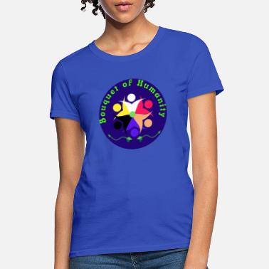Race We The Bouquet of Humanity - Women's T-Shirt