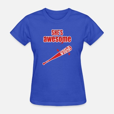 Lucille Awesome Lucille - Women's T-Shirt