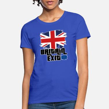 Commonwealth Britain Exit- Brexit- Leave EU - Women's T-Shirt