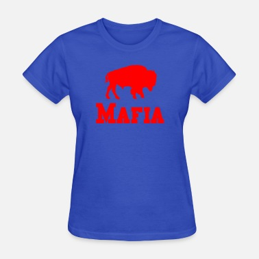 Man On A Buffalo Bills Mafia Shirt - Buffalo Football Shirt - Women's T-Shirt