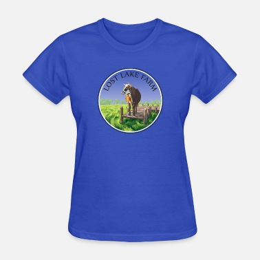 Lost Logo Lost Lake Farm Logo - Women's T-Shirt