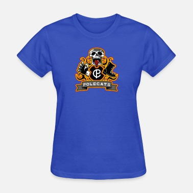 Polecats Full Throttle Polecats - Women's T-Shirt