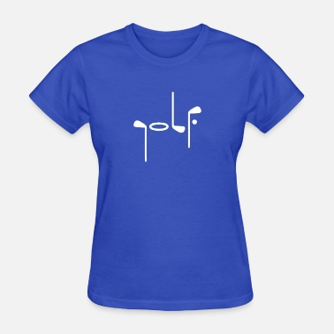 Golf Heartbeat GOLF - Women's T-Shirt