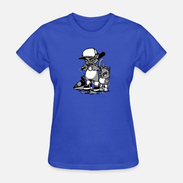 Cartoon Rapper Animal gangs - Women's T-Shirt