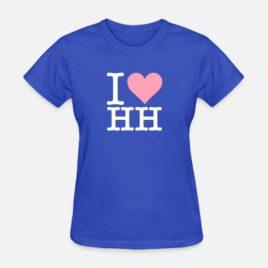 Seaport I Love Hamburg - Women's T-Shirt