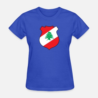 Zahle National Coat Of Arms Of Lebanon - Women's T-Shirt