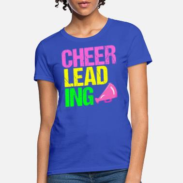 be31ab0a6 Cool Cheerleading Gift Cool Neon Cheerleading | Pretty Cheerleader -  Women's T. Women's T-Shirt