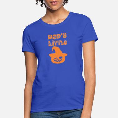 0986aa39 Dads Little Pumpkin Happy Halloween - Women's ...