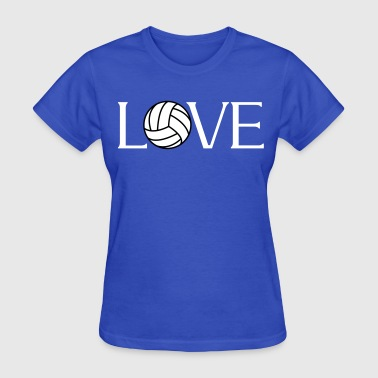 Volleyball Love player fan - Women's T-Shirt