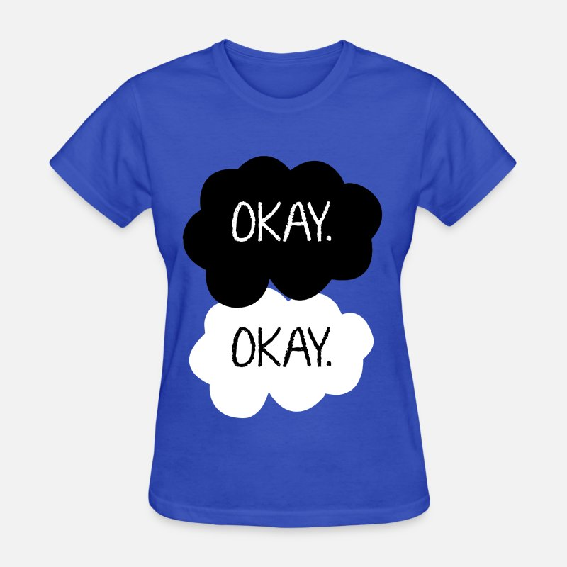 Couples T-Shirts - Okay.  - Women's T-Shirt royal blue
