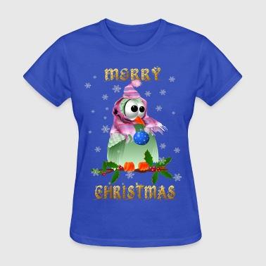 Christmas Decoration Bird - Women's T-Shirt