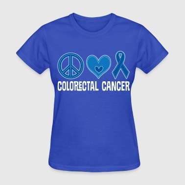 Colorectal Cancer Awareness Ribbon - Women's T-Shirt