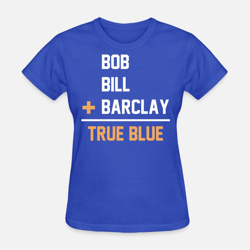 Barclay Plager T-Shirts - St Louis Blues hockey - Women's T-Shirt royal blue