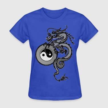 Tai Chi dragon - Women's T-Shirt