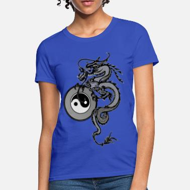 Taiji dragon - Women's T-Shirt