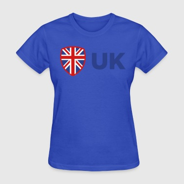 Manchester United Logo National Flag Of The United Kingdom - Women's T-Shirt