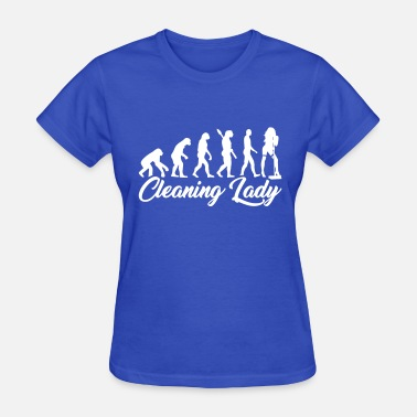Broom Cleaning Lady Cleaning lady - Women's T-Shirt