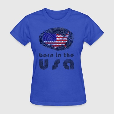 born in the usa  - Women's T-Shirt