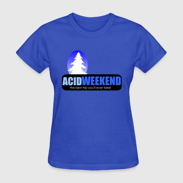 Lsd Trip acid weekend ski trip lsd tripping party - Women's T-Shirt