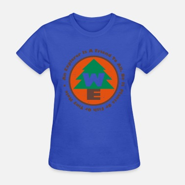 Wilderness Wilderness Explorers Badge - Women's T-Shirt