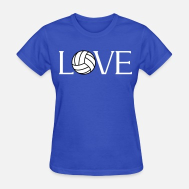 Volleyball Player Volleyball Love player fan - Women's T-Shirt