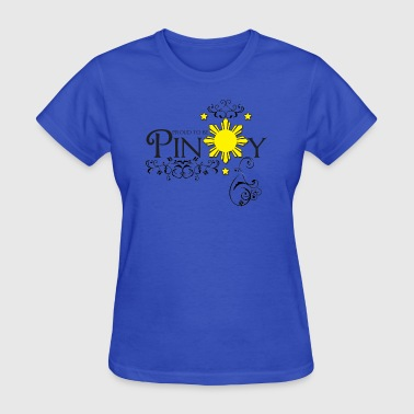 Proud to be pinoy - Women's T-Shirt