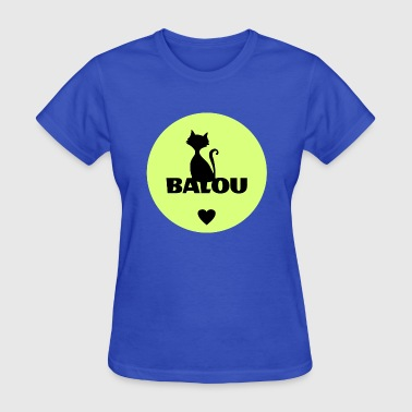 Pet Name Balou cats pets name - Women's T-Shirt