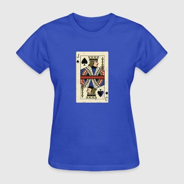 Jacked Card Game Cool and Trendy Jack Card Design - Women's T-Shirt